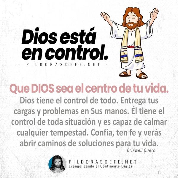 Reflexión de hoy: Dios está en control de toda situación