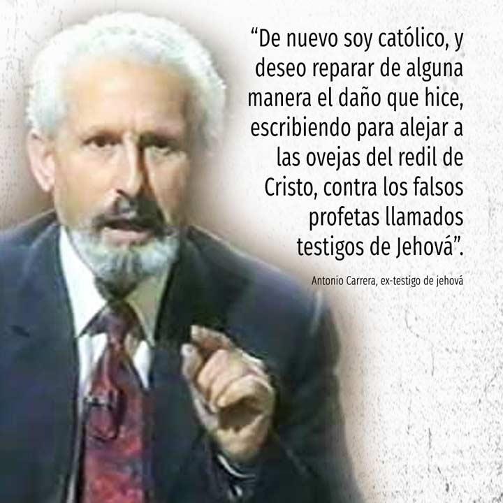 Ex-testigo de jehová cuenta las mentiras de este culto. Antonio Carrera