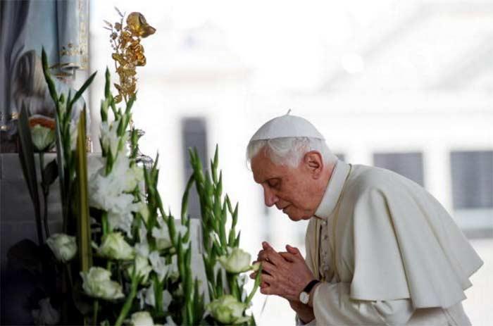 Benedicto XVI y la Virgen de Fátima