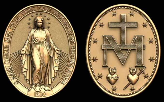 Significado de la inscripción en la Medalla Milagrosa dada por la Virgen