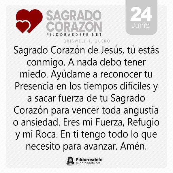 Oración al Sagrado Corazón de Jesús por los tiempos difíciles