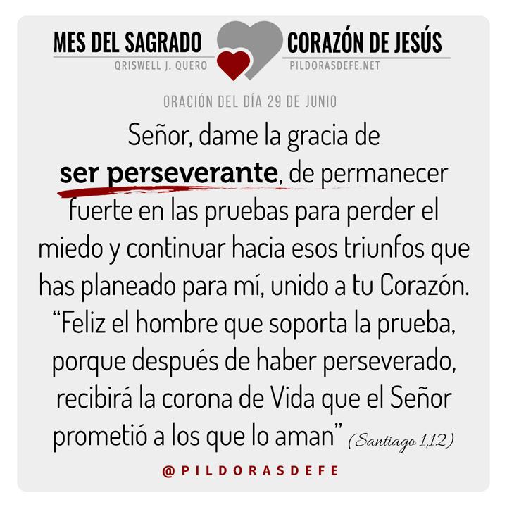 Oración del día 29 de junio al Sagrado Corazón de Jesús