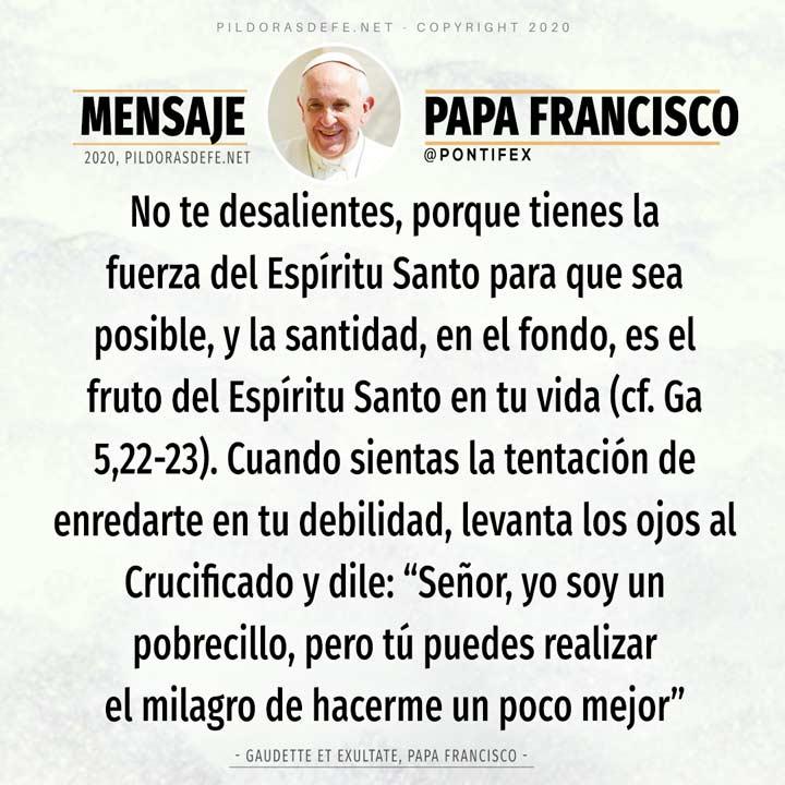 Reflexión de hoy 9 de mayo del Papa Francisco