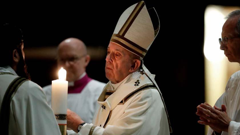 Papa Francisco Cirio Pascual Vigilia de pascua