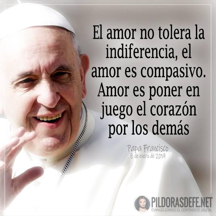 Papa Francisco sobre el amor