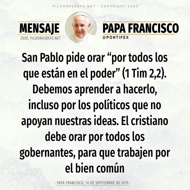 Reflexión de hoy 23 de mayo por el Papa Francisco
