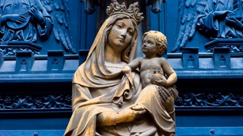 amar a la virgen maria es amar a Dios jesus cristo