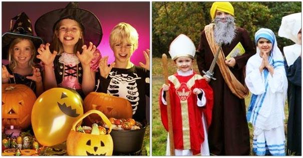 catolicos no deben participar fiestas halloween holywins