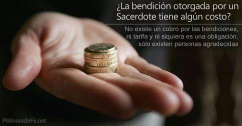 cobro bendiciones sacerdotes