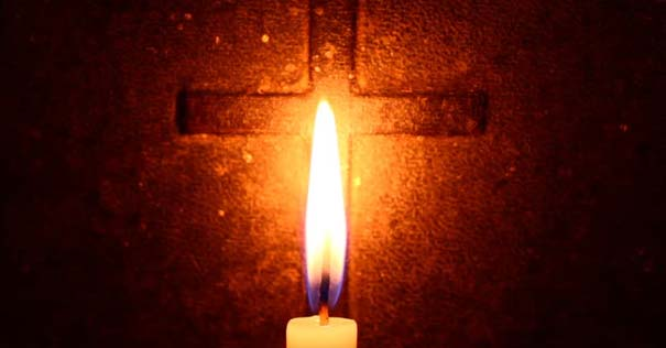 cruz vela encendida revelacion de dios