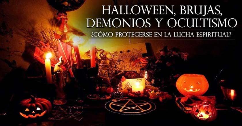 halloweens altar de sacrificio para brujas calabazas sangre tenebroso