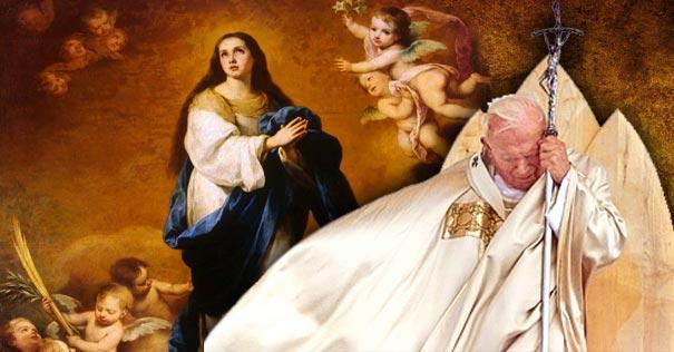 Lo Que San Juan Pablo Ii Nos Enseñó Sobre La Inmaculada