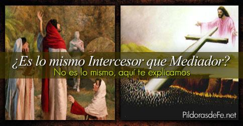 intercesor mediador