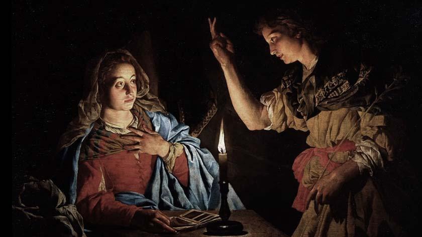 jesus enmanuel angel gabriel da dos nombres maria anunciacion del senor