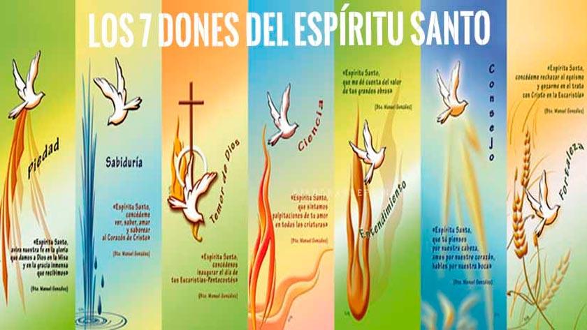 los  dones del espiritu santo como son cuanto como actuan