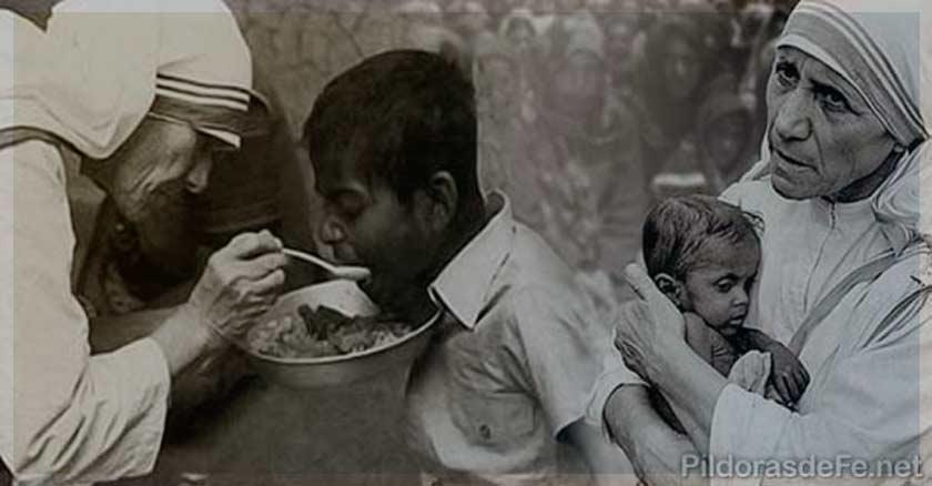 madre teresa de calcuta ayuda a los pobres santa teresa de calcuta