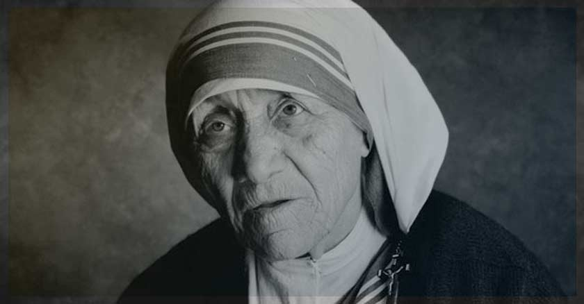 madre teresa vision de jesus y la virgen santa teresa de calcuta
