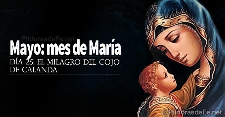 mayo mes de la virgen maria milagro del cojo de calanda dia