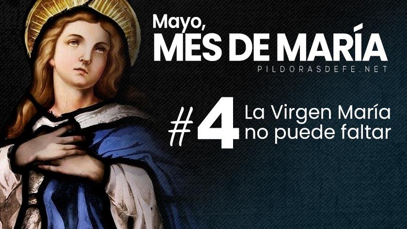 mayo mes de maria dia  la virgen no puede faltar