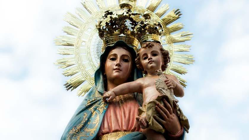 nuestra senora del pilar patrona de espana virgen del pilar milagro cojo de calanda