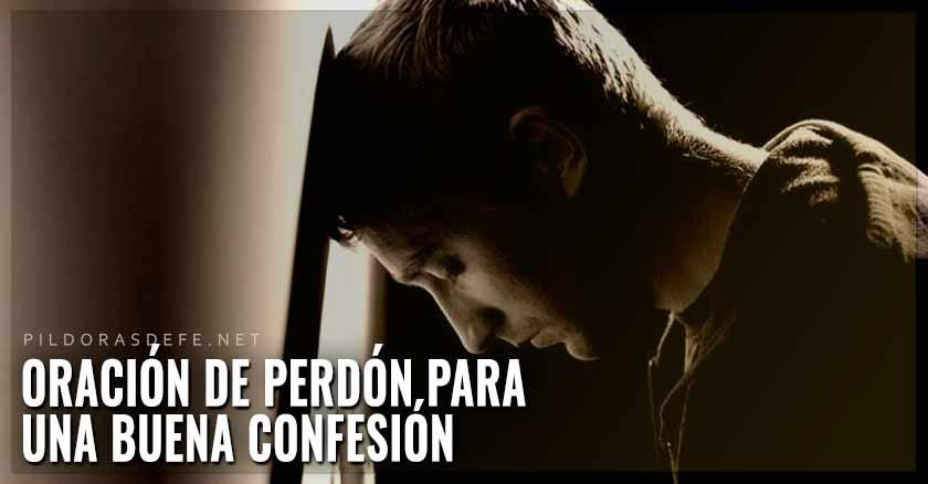 oracion de perdon para una buena confesion hombre triste recostado de pared