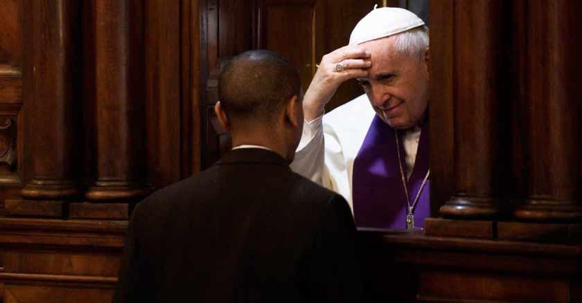 papa francisco confesando la confesion consejos que te da un santo