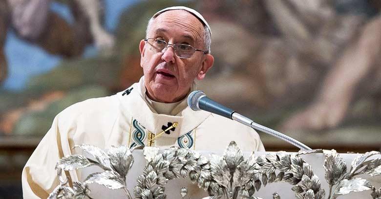 papa francisco discurso homilia en el podio santa misa