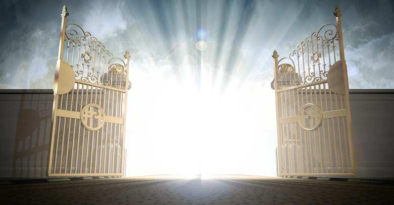 puertas del cielo reino de dios jesus