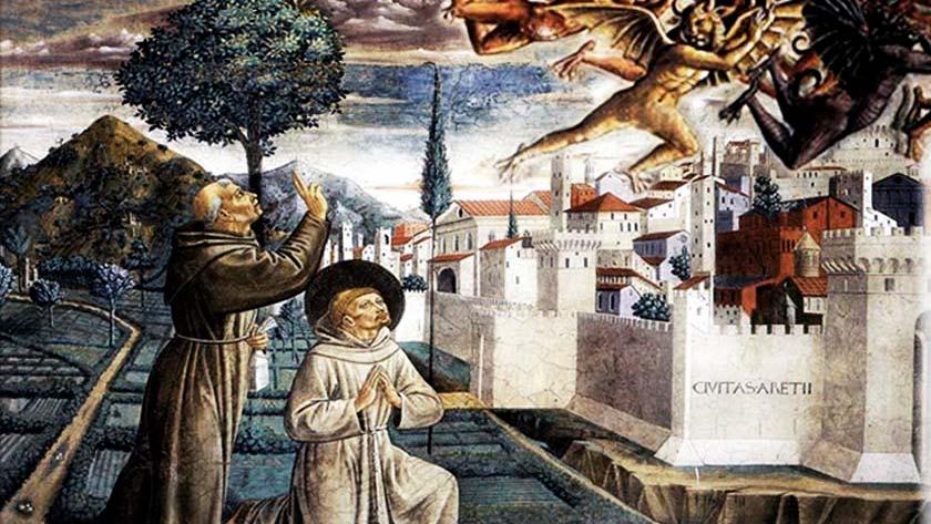san francisco de asis exorcismo legion de demonios en ciudad pueblo