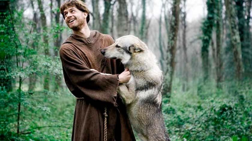 san francisco de asis lobo de gubbio historia suceso milagro mistico