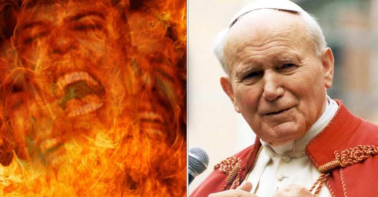 san juan pablo ii el infierno es rechazo definitivo de dios