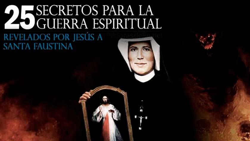 santa faustina kowalska secretos revelados por jesus para la guerra lucha espiritual