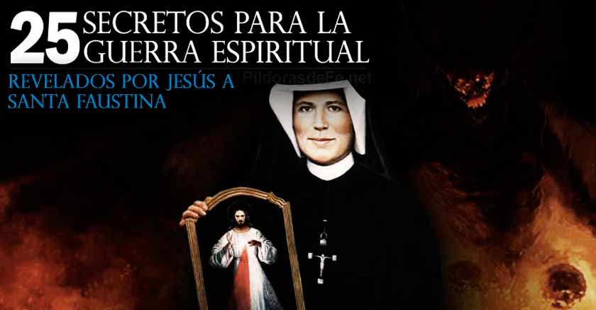 santa fautina kowalska secretos revelados jesus batalla espiritual