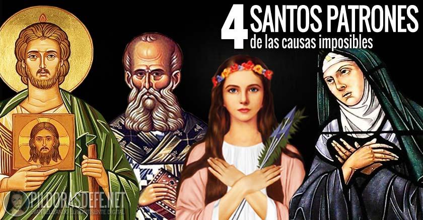 Los 4 Santos Patrones De Las Causas Imposibles Y Desesperadas