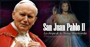 papa san juan pablo ii chispa divina misericordia