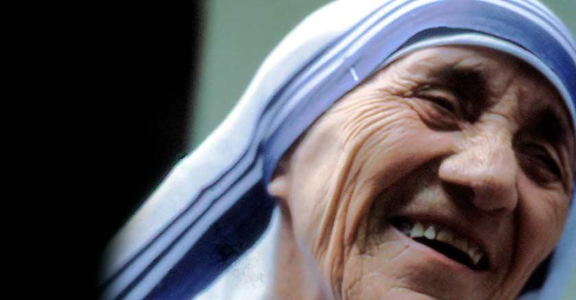 sonrisa madre teresa de calcuta vision de jesus virgen maria