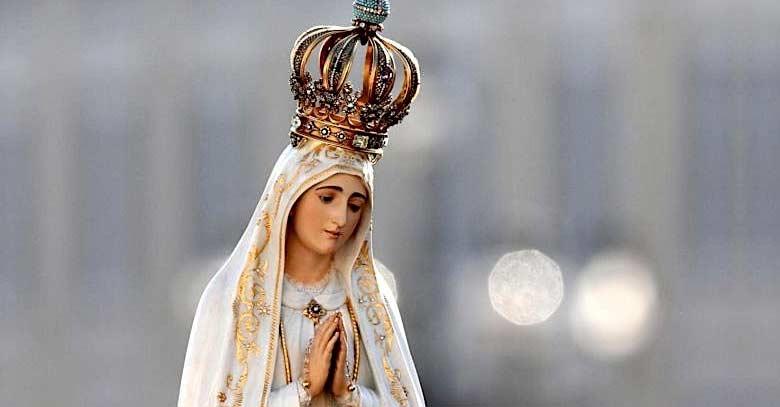 virgen de fatima estatua nuestra senora del rosario santuario