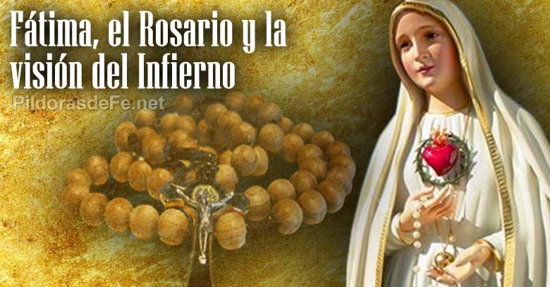 virgen de fatima poder santo rosario vision infierno
