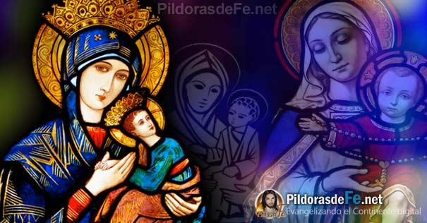 virgen maria rostros nino jesus brazos