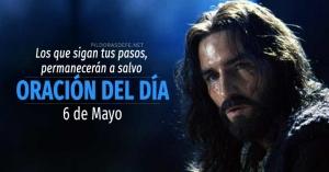 oracion del dia  de mayo oracion diaria reflexion de hoy los que siguen pasos de Dios
