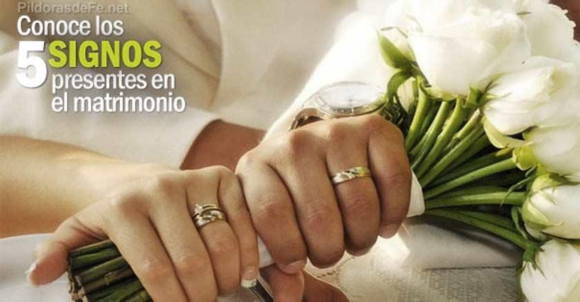 Signos Del Matrimonio Catolico : Signos que están presentes en el matrimonio