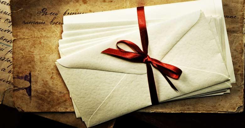 cartas de amor lazo rojo