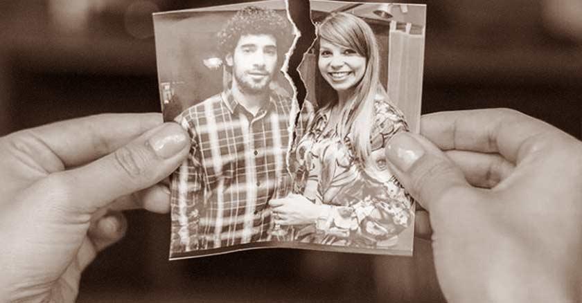 foto pareja rota a la mitad matrimonio roto salud emocional