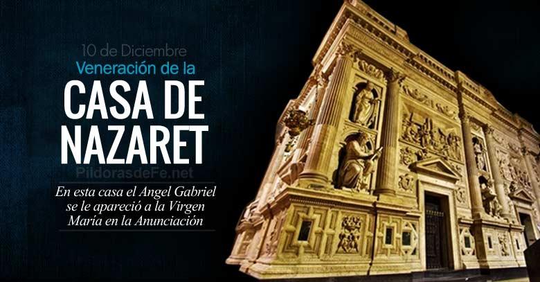 Veneracion De La Casa De Loreto Donde El Angel Gabriel Se Aparecio