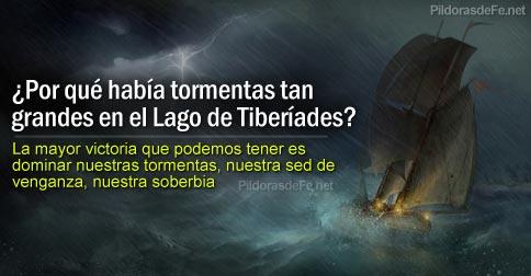 Por Qué Había Tormentas Tan Grandes En El Lago De Tiberíades