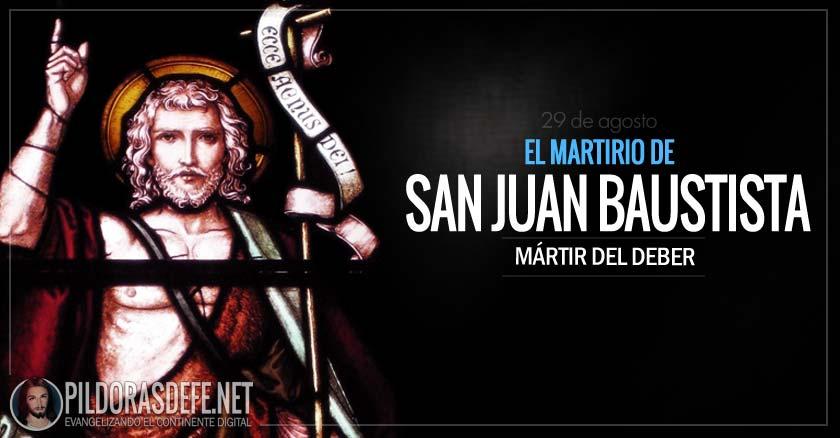 Resultado de imagen para El Martirio de San Juan Bautista