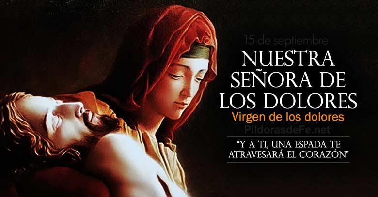 nuestra senora de los dolores virgen de los dolores