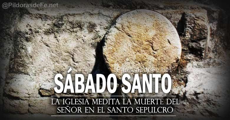 sabado santo vigilia pascula iglesia espera resurreccion santo sepulcro