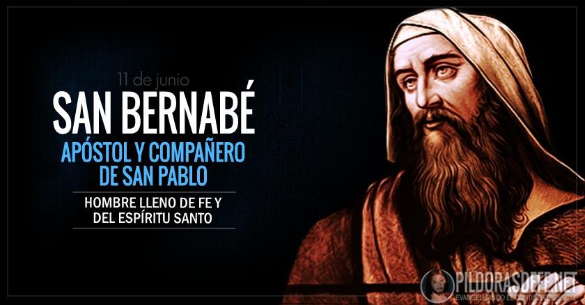 san bernabe apostol companero de san pablo hombre lleno de fe y del espiritu santo