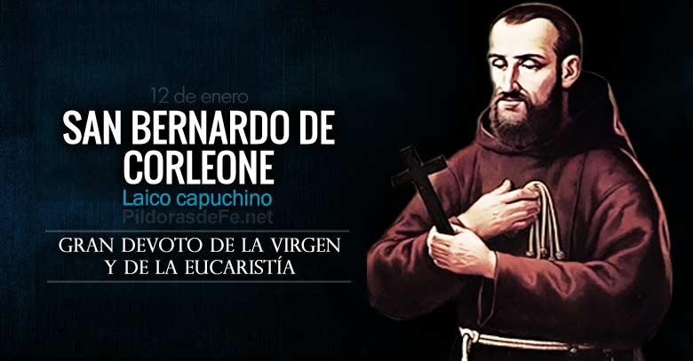 san bernardo de corleone laico capuchino en oracion